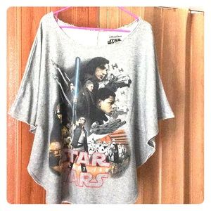 Disney Star Wars poncho shirt